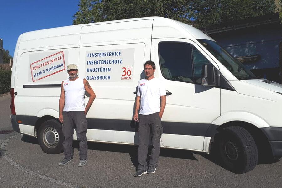 Fensterservice Ostschweiz Team mit 30 Jahren Erfahrung
